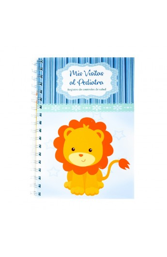 Cuaderno Pediatrico Leoncito