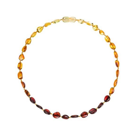 Multicolor 4 - Pulsera de Ambar 14cm