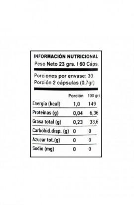 Calcio + Magnesio 60 capsulas 385mg