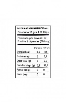Guarana 60 capsulas 300mg