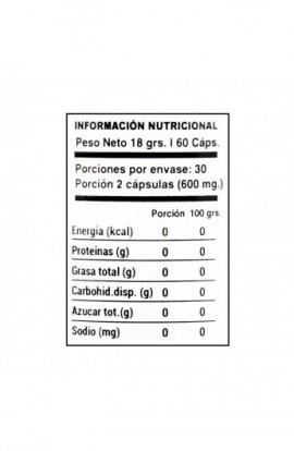 Vitamina C + Zinc 60 capsulas 300mg