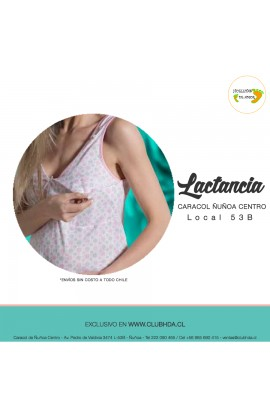Camisola Maternal Coral
