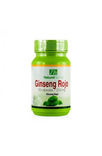 Ginseng Rojo 50 capsulas 250mg